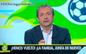�El Chiringuito de Jugones� se estren� anoche con gran �xito en Nitro