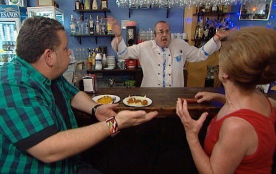Pesadilla en la cocina alberto chicote se enfrenta de for Pesadilla en la cocina anou