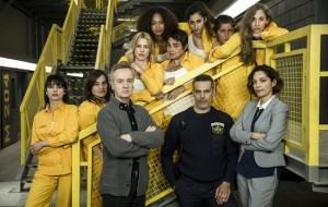 Antena 3 estrena �Vis a vis�, con Maggie Civantos, Berta V�zquez, Alba Flores y Najwa Nimri
