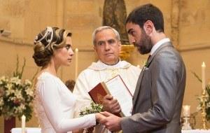 �All� abajo�, cap�tulo 28: Sorpresas y percances en la boda de I�aki y Carmen, �se dar�n el �s�, quiero�?