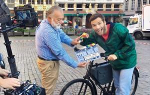 Ricardo G�mez arranca en Bruselas el rodaje de la 18� temporada de �Cu�ntame c�mo pas�