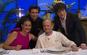 """MasterChef 5"" recibe al 28 estrellas Michelin Joël Robuchon en la gran final"