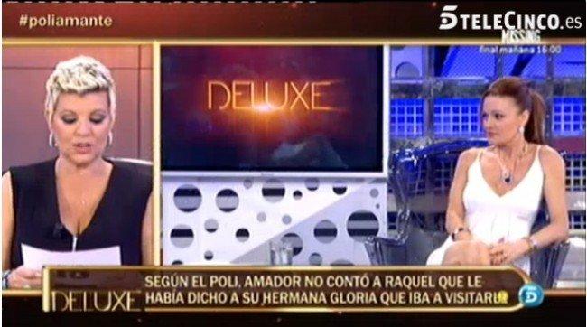 Terelu Campos fue la encargada de entrevistar a Raquel Moragues en el pol�grafo de S�lvame Deluxe