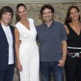 Jordi Cruz, Eva Gonz�lez, Pepe Rodr�guez y Samantha Vallejo en el Festival de Vitoria