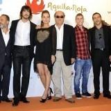 Javier Guti�rrez, Santiago Molero, Patrick Criado, David Janer y Miryam Gallego en el FesTVal