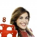 Raquel S�nchez Silva celebra feliz el cumplea�os de Cuatro