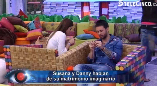 danny y susana imaginan ser un matrimonio en gran hermano de telecinco