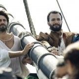 """La nave San Miguel llega a tierra en """"El coraz�n del oc�ano"""""""