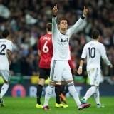 Cristiano Ronaldo protagonista del Manchester United-Real Madrid