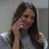 """Cristina Alarcón como Clara, prometida de Pablo en la serie """"B&b"""""""