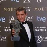 Antonio Banderas recibió el Goya de Honor en la XXIX edición de los Premios Goya