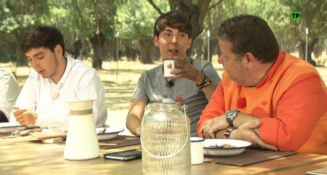 Fotos los exconcursantes de pek n express deciden al for Equipo para chef