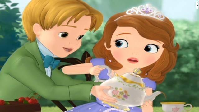 princesa narra las aventuras de una niña llamada Sofía en Disney