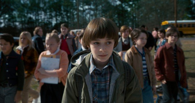 "Will en la segunda temporada de ""Stranger Things"""