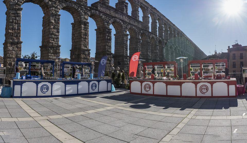 Foto xxl el acueducto de segovia escenario de la primera prueba de exteriores de masterchef - Exteriores puente viejo ...