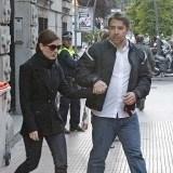 Raquel S�nchez Silva llora la muerte de su marido Mario Biondo