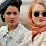 """Adriana Ugarte y Hannah New rodando la nueva serie de Antena 3, """"El tiempo entre costuras"""""""