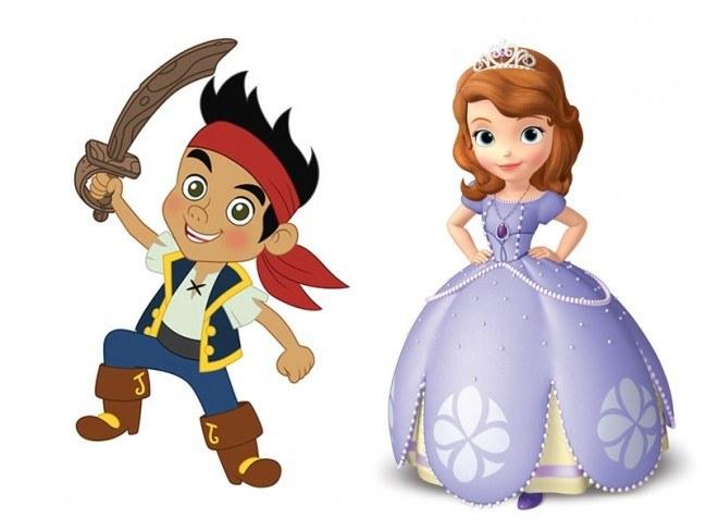 """Especial verano en Disney Junior con """"Jake y los piratas de Nunca Jam�s"""" y """"La Princesa Sof�a"""""""
