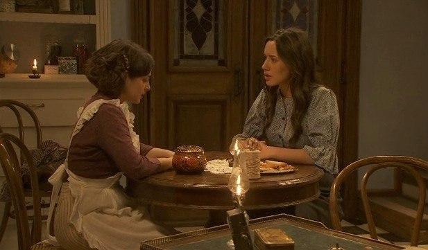 Candela cree a Carmen y se ofrece a demostrar que Jacinta es una impostora - Antena 3